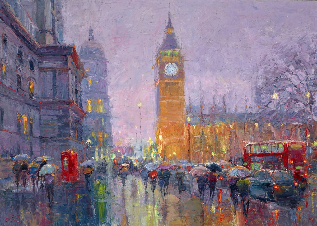 Rainy Night in Westminster